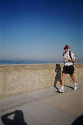 I ran 30 miles at 30 years old, from Oceanside to La Jolla.