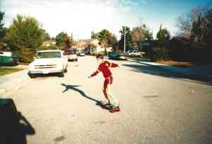 Tony Hawk was from my county, I loved skate boarding.
