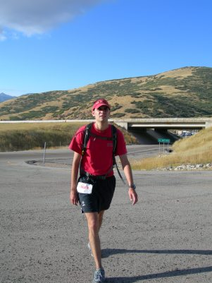 2005, I paced Brian R. from Big Mountain to Lambs in the Wasatch 100.