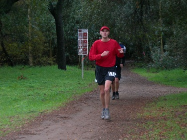 My first Ultra - Lake Hodges 50k 2006.