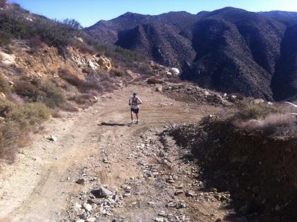 Oriflamme Canyon climb.