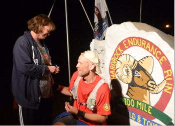 Shortly after finishing the Hardrock 100, BJ proposes to Erica, she said yes!