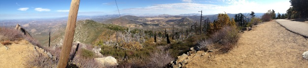 View from Cuyamaca Peak.