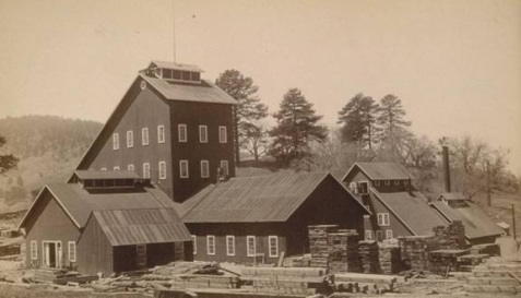 Stonewall Mine 1889 or 1890, with Hoist House and Mill Buildings (http://www.parks.ca.gov/?page_id=25011)
