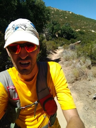 Heading up Big Sandy, feeling the heat and confirming gravity.